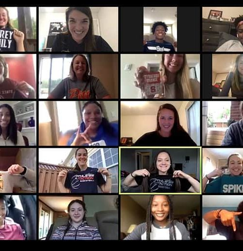 Zoom Video of Athletic Leaders