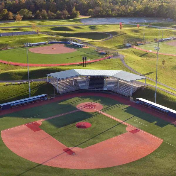 Grady's Field is a baseball stadium and field at Athletes in Action Sports Complex in Xenia.  Built on land from the former Ohio Veteran's Children's Home, Athletes in Action installed seven synthetic turf playing fields in 2006 including two soccer, two softball, one baseball and one football field.  TY GREENLEES / STAFF