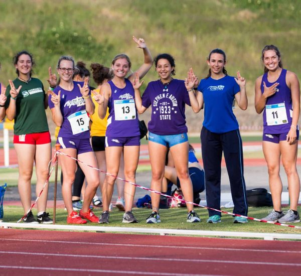 Track and Field-girls posing-Canary Islands 2018_Track Meet-53